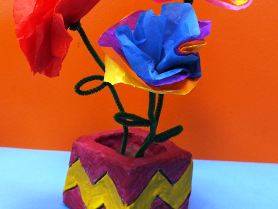 Fiesta Playdate- Clay Flower Pot Workshop (18 Months-6 Years)