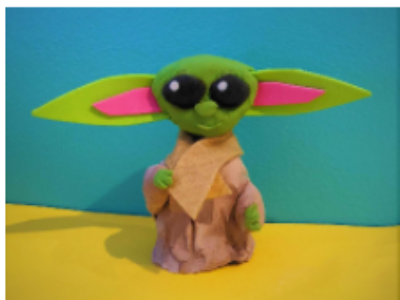 Baby Yoda Bobblehead Workshop (4-12 years)